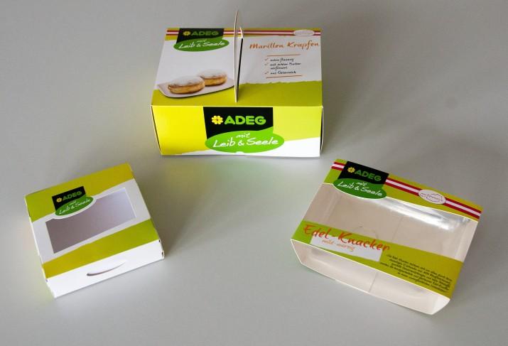 Verpackung für Fa. ADEG
