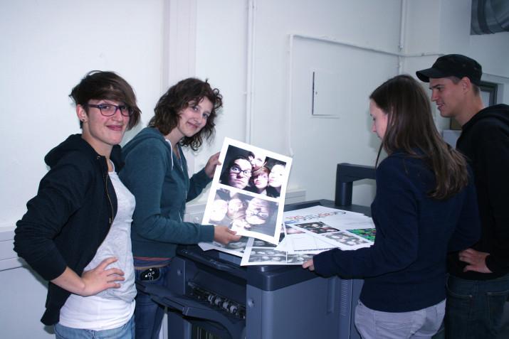 Digitaldruck auf Konica