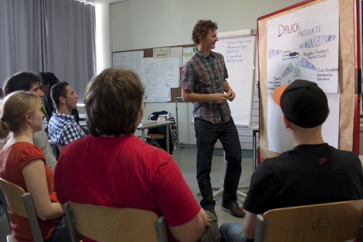 Planung und Präsentation