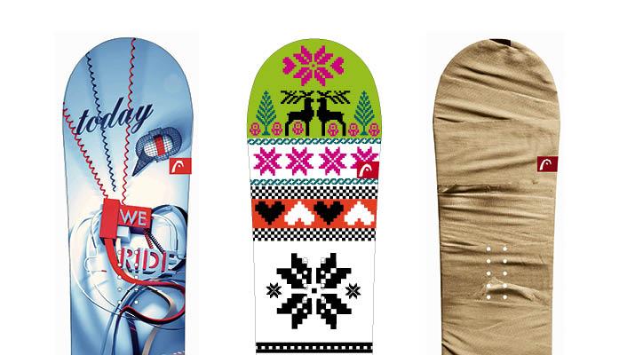 Neue Snowboardline für Head