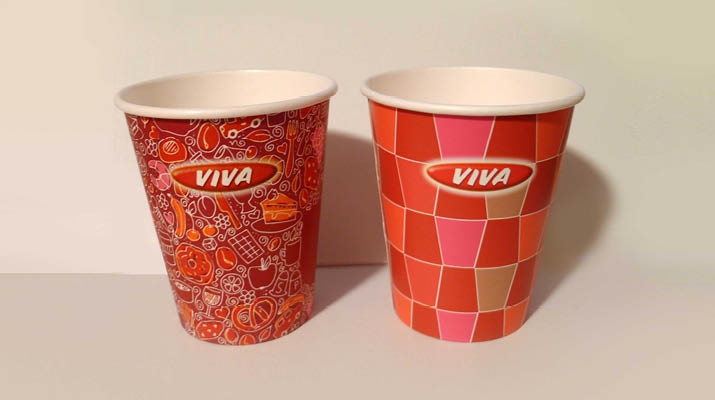 Kaffee-Becher für Viva / OMV
