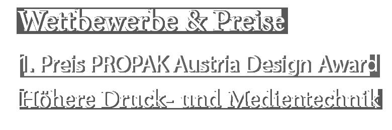 Propak Design Austria Award
