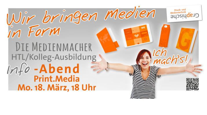 Info-Abend: Ausbildung zum Print.Media-Ingenieur